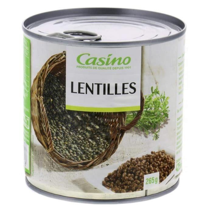 CASINO Lentilles 530 g