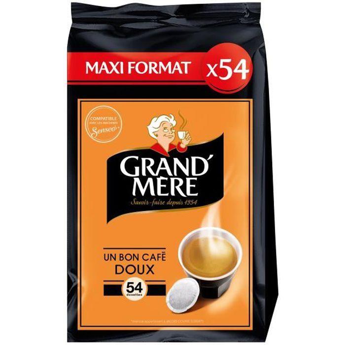 Grand-mère Doux café en dosettes x54 -356g