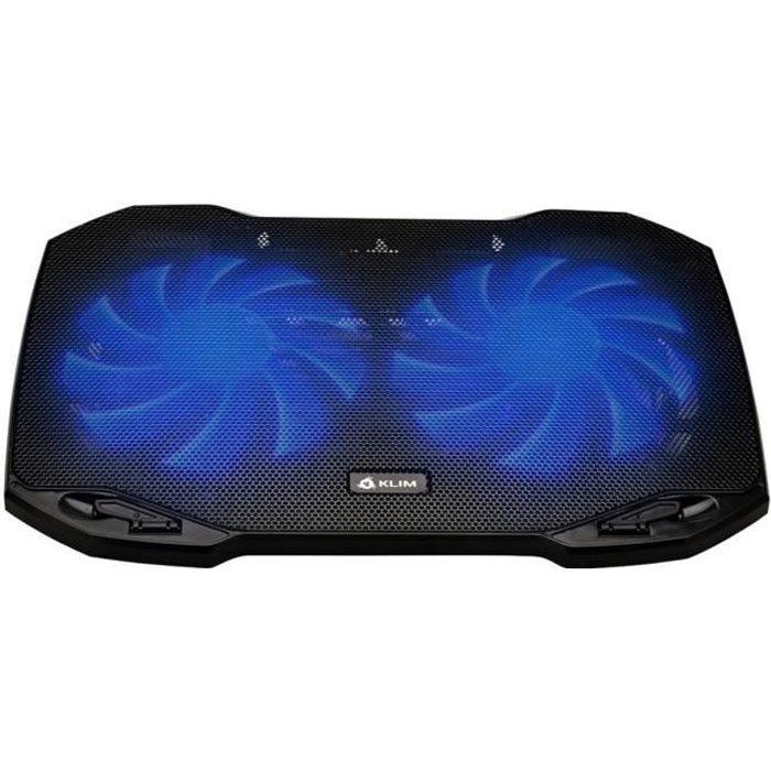Klim Pro Refroidisseur pour Professionnels Ventilateur Support Pc Portable Ventilo Transportable 10 à 15,6 pouces