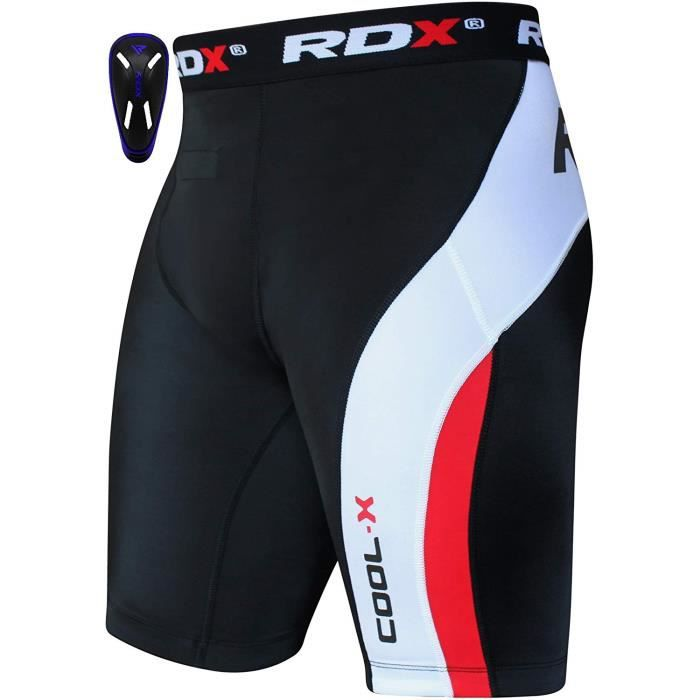 RDX Neoprene Homme Short de Compression Cuissard Coquille Tight Running Caleçon Boxer Sport Triathlon
