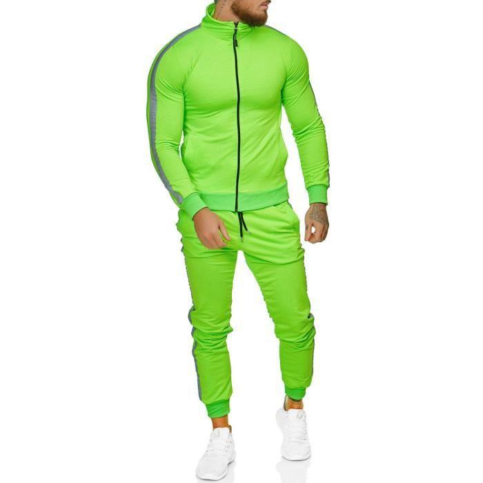 Survêtement homme fashion Survêt 1068 vert S