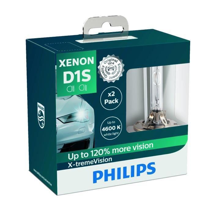 Philips 85415XVS2 Ampoule Xénon X-tremeVision D1S, Set de 2