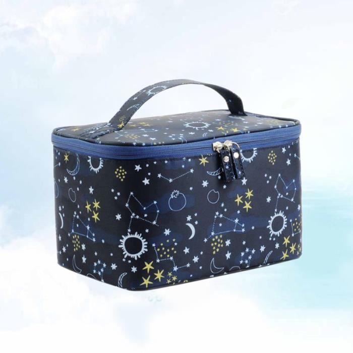 Travel Printing Cosmetic Bag Portable Makeup Pouch Cosmetics Toiletries Storage Organizer for Women  TROUSSE DE TOILETTE - VANITY