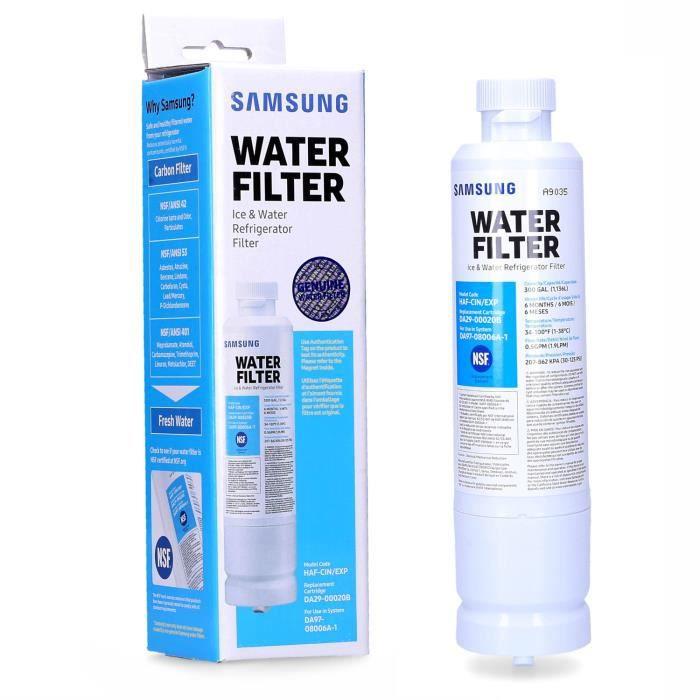 Samsung Filtre à eau, pièce de rechange pour réfrigérateur Samsung RF24FSEDBSR