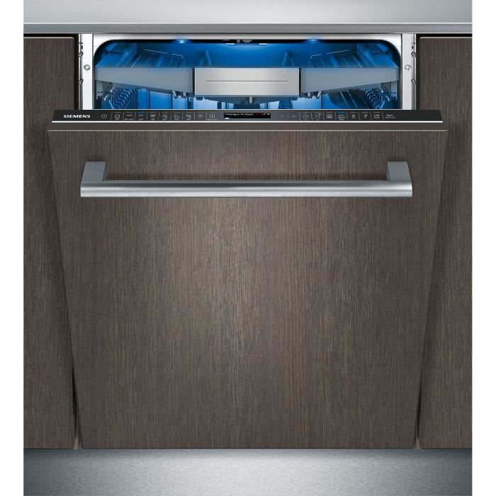 siemens - lave-vaisselle 60cm 13 couverts a+++ zéolite tout intégrable - sn678x36ue