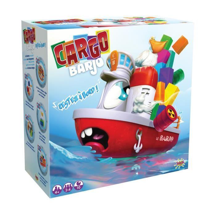Splash Toys - Cargo Barjo - jeu de réfléxion et stratégie