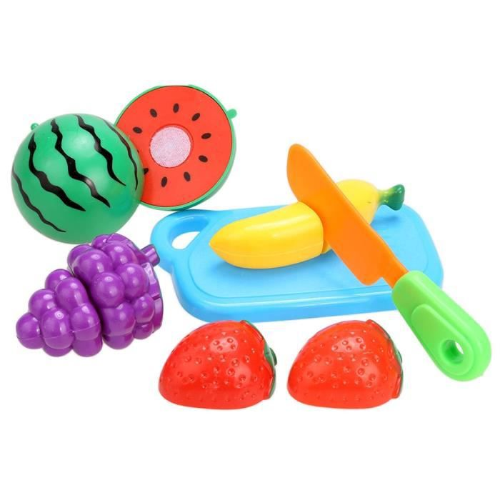 Jouets enfants cuisine semblant kit r utilisables fruits l gumes aliments r le play coupe - Jeux ou on coupe des fruits ...