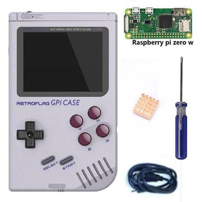 Kit Retroflag Gpi Case Pour Raspberry Pi Zero Et Zero W Etui Pi Zero W Prix Pas Cher Cdiscount