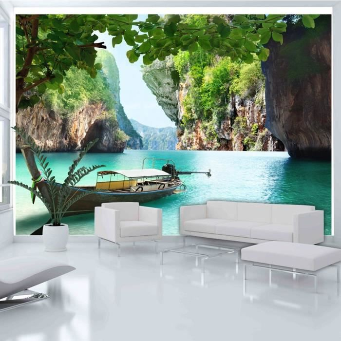 affiche g ante poster xxl nature 350x245 cm 7 l s achat vente papier peint cdiscount. Black Bedroom Furniture Sets. Home Design Ideas