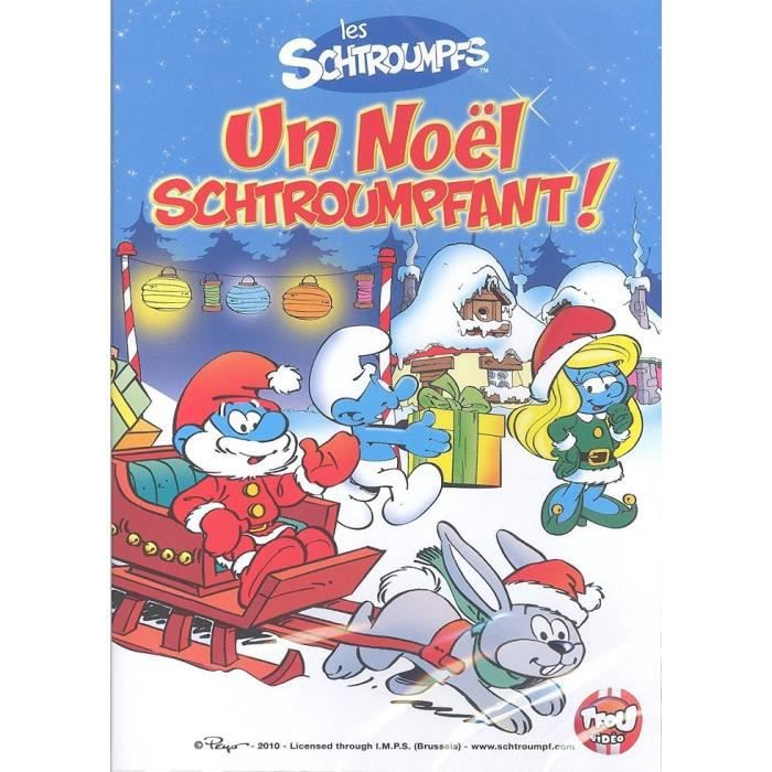 Les Schtroumpfs Un Noel Schtroumpfant Dvd En Dvd Dessin Anime