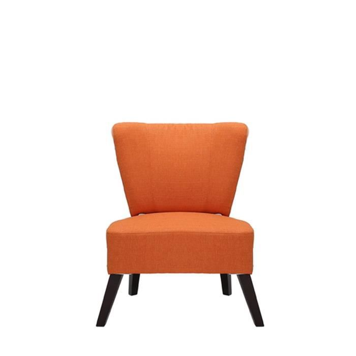 fauteuil lounge kona couleur orange achat vente. Black Bedroom Furniture Sets. Home Design Ideas