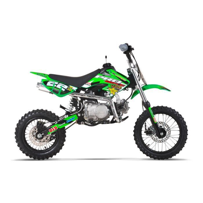 moto dirt bike 125 pit bike probike 125 vert 2017. Black Bedroom Furniture Sets. Home Design Ideas