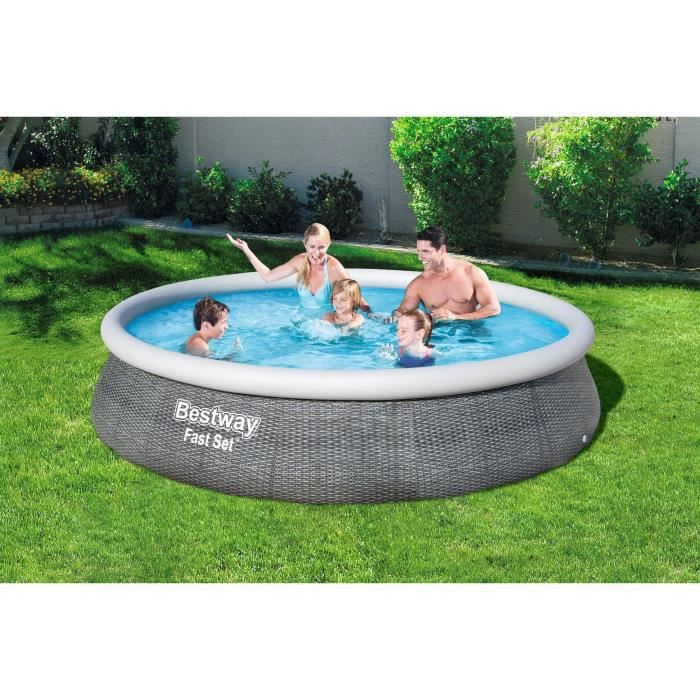 Piscine Hors Terre Gonflable Quick Set