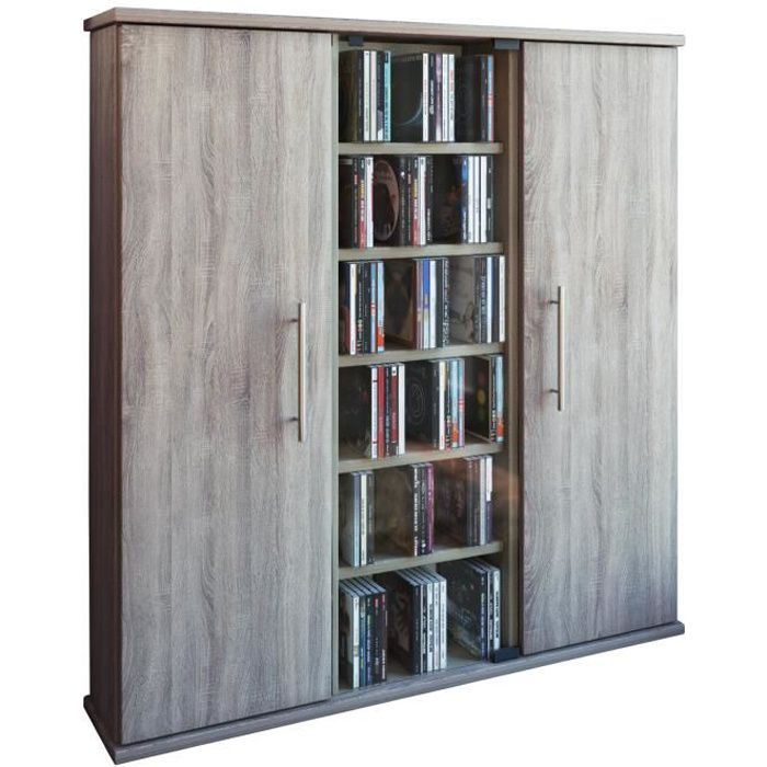 santo tour rangement biblioth que cd dvd 450 cd sonoma ch ne achat vente biblioth que santo. Black Bedroom Furniture Sets. Home Design Ideas