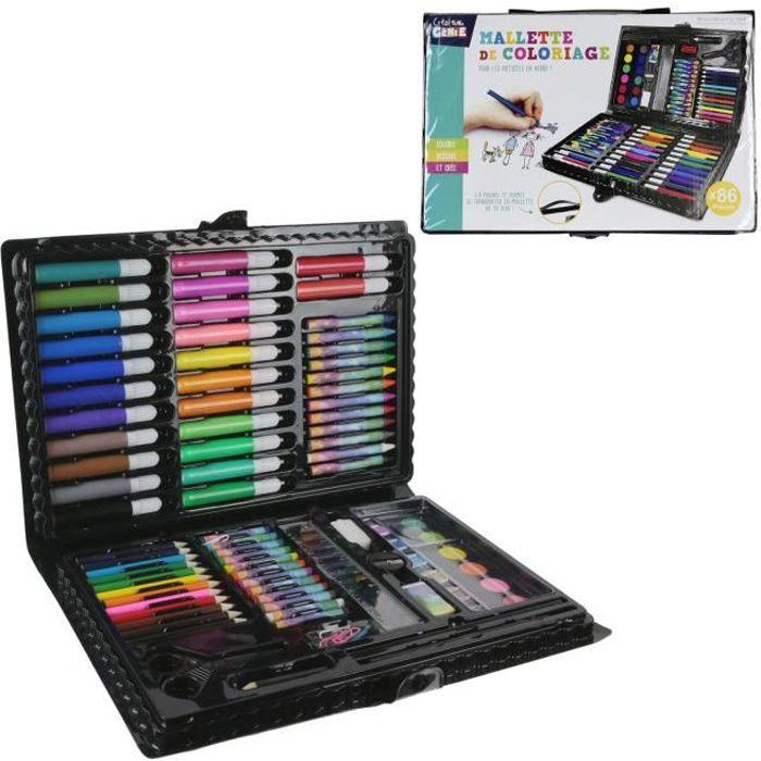 Malette Peinture Crayons