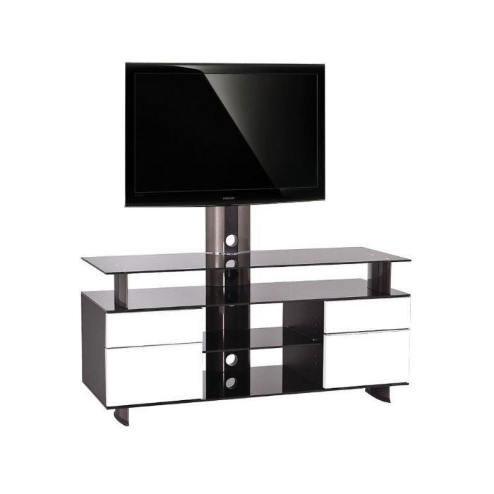 meuble tv 55 pouces. Black Bedroom Furniture Sets. Home Design Ideas