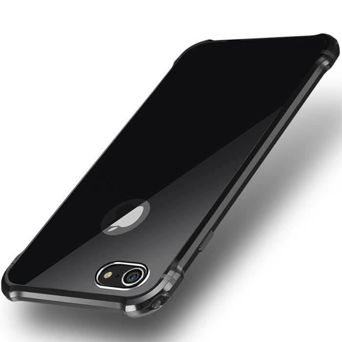 aluminium metal bumper coque pour iphone 7 plus 5