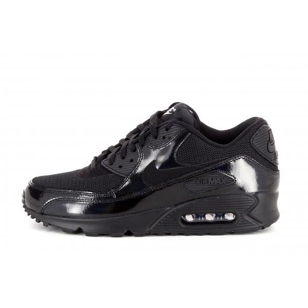 the latest 6db02 8a6bb Basket Nike Air Max 90 Premium -... Noir Noir - Achat / Vente basket ...