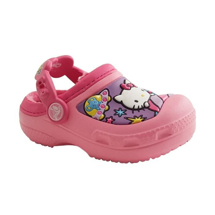 CROCS-CROCS HELLO KITTY-SABOT-ROSE