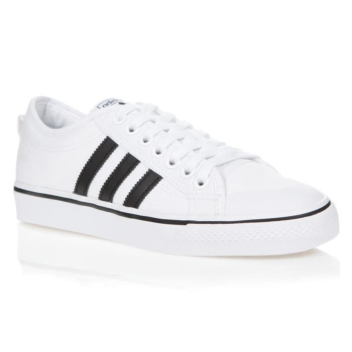 chaussure adidas blanche homme