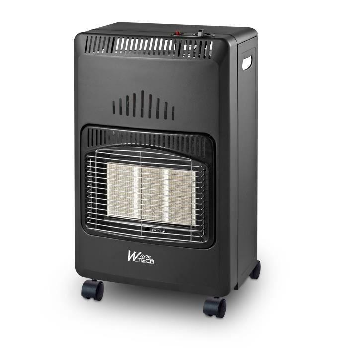 POÊLE À GAZ Chauffage gaz infrarouge 4.2 KW Pliable - Warm Tec