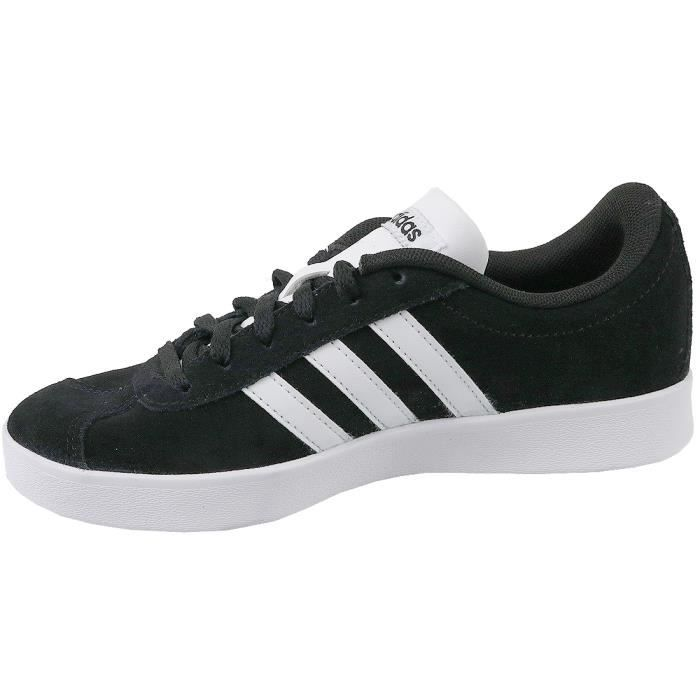 Enfant 2 Baskets Db1827 K 0 Adidas Court Noir Vl Mixte YawOAF