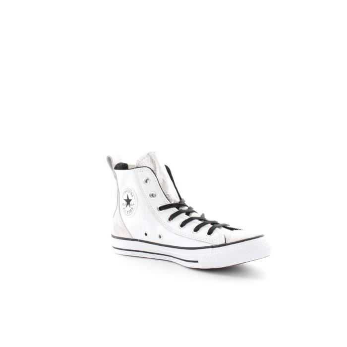 Converse All Star Hi White Chaussures de Sport ...