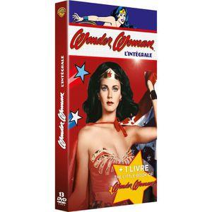 DVD SÉRIE DVD Coffret Wonder Woman - L'intégrale + 1 Livre