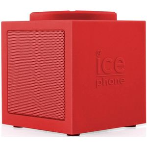 ICE PHONE ICE-MUSIC Enceinte Bluetooth Rouge