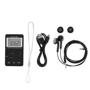 RADIO CD CASSETTE Récepteur radio de poche stéréo à deux bandes AM /