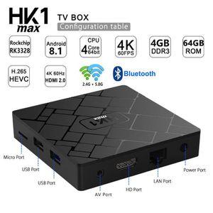 Ensemble home cinéma RK3328 4K HD TV Box Lecteur multimédia intelligent