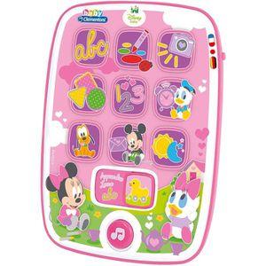 LIVRE INTERACTIF ENFANT 62949 - Ma première Tablette Baby Minnie - Disney