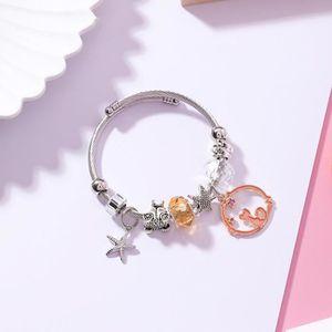 MONTRE Bracelet Cristal DIY Starfish Kitty - orange