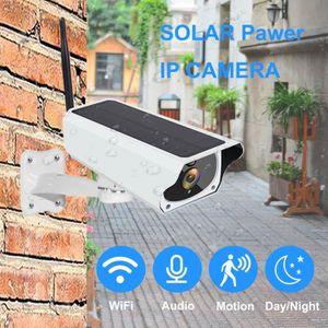 CAMÉRA IP 1080P solaire caméra IP 2MP sans fil Wi-fi batteri