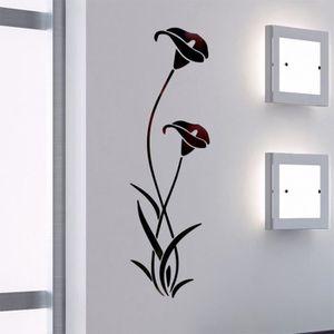 STICKERS 3D Sticker effet miroir salle de bain, Stickers mu