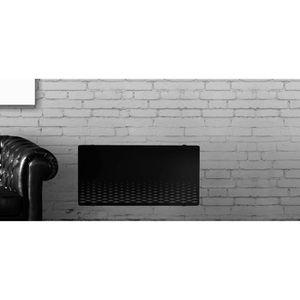 RADIATEUR ÉLECTRIQUE ALPINA Verre Noir LCD 2000 watts Radiateur Panneau
