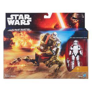 FIGURINE - PERSONNAGE Star Wars Episode VII véhicule avec figurine