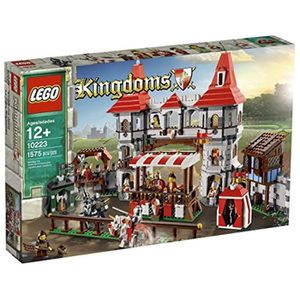 ASSEMBLAGE CONSTRUCTION Jeu D'Assemblage LEGO D7H1B Royaumes Joust 10223