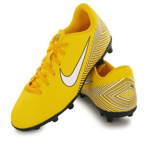 CHAUSSURES DE FOOTBALL NIKE FOOTBALL JUNIOR NEWS NEYMAR VAPOR 12 MG JAUNE