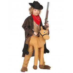 DÉGUISEMENT - PANOPLIE Déguisement porte-moi cowboy enfant - Taille Uniqu