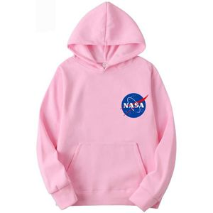 SWEATSHIRT Sweatshirt PVTYT NASA Logo Hoodie Universe Back Pr