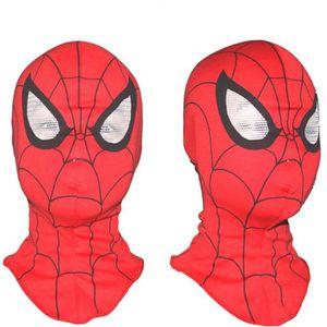 MASQUE - DÉCOR VISAGE Cosplay Super Hero Spiderman Mask Costume Party Ac