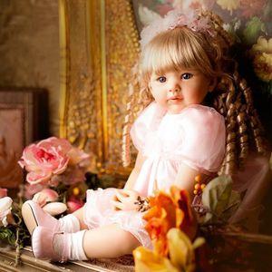 POUPÉE Mode Princesse Bébé Poupée Jouet 60 cm Réaliste Si