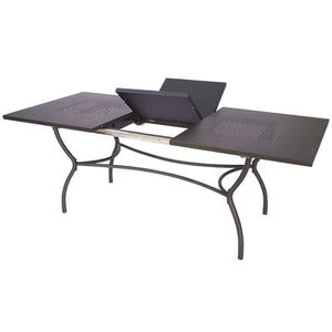 Table de jardin avec allonge achat vente table de for 2 sous de table