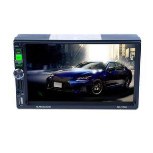 AUTORADIO RK-7159G Autoradio 7 pouces voiture stéréo lecteur