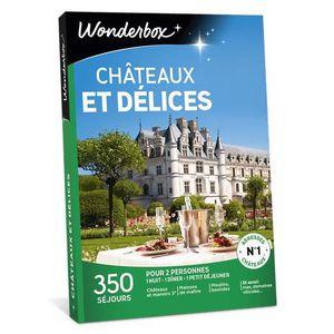 COFFRET SÉJOUR Wonderbox - Box cadeau en amoureux  - CHÂTEAUX ET