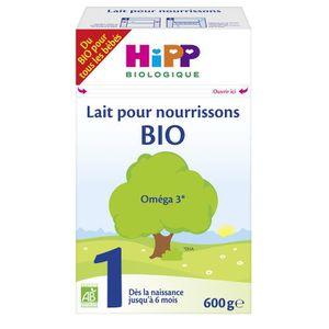 LAIT BÉBÉ HIPP BIOLOGIQUE Lait pour nourrissons en poudre 1e
