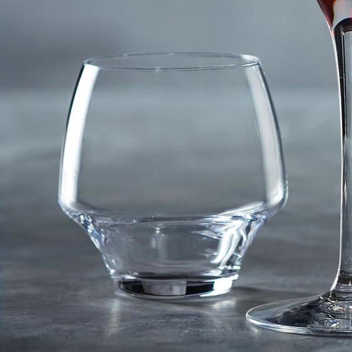 6 verres à eau 38cl Open Up - Chef&Sommelier - Cristallin design original 30% plus résistant