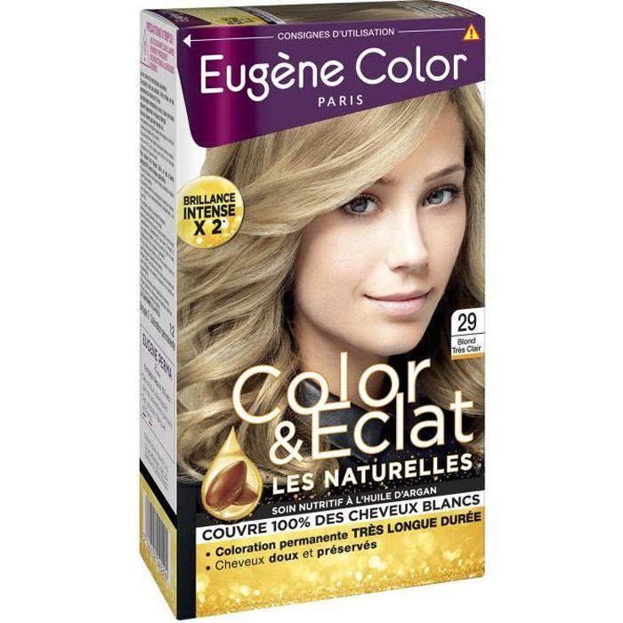 EUGENE COLOR Crème Colorante permanente 29 Blond très clair