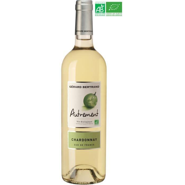 Gérard Bertrand Autrement Chardonnay IGP Pays d'Oc - Vin blanc du Languedoc-Roussillon - Bio